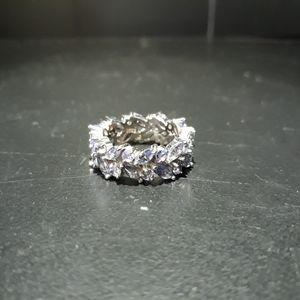 Natural Tanzanite Eternity Ring a5